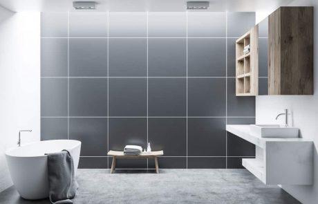 תאורה צמודת קיר לאמבטיה