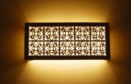 להעניק לבית מראה ייחודי עם תאורה צמודת קיר